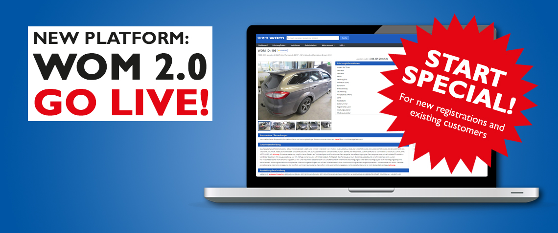 New Platform WOM 2.0 goes live!